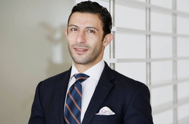 Arash Yaghoobian  MD  <BR>Spine Surgeon
